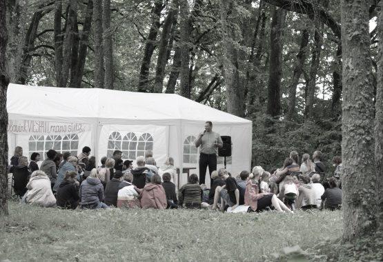 """Parapijos stovykla """"Skomantai"""" '2016"""