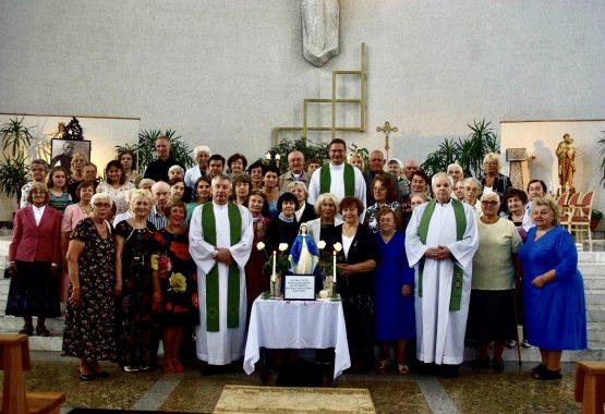"""""""Šventosios šeimos"""" Marijos Legiono jubiliejinė ACIES šventė"""