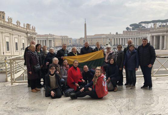 Parapijiečių piligriminė kelionė į Italiją '2020