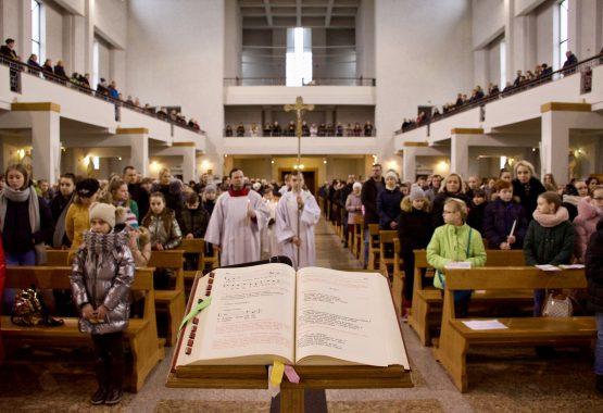 Kristaus paaukojimo šventė '2020